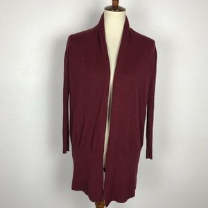 Moda International Open Front Cardigan Sweater